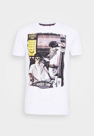 SWEENEYB - Print T-shirt - optic white