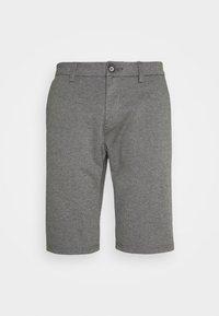 grey melange pique