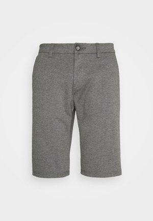 JOSH  - Shorts - grey melange pique