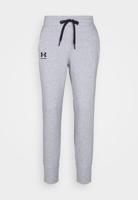Under Armour - RIVAL - Tracksuit bottoms - steel medium heather - 4