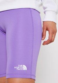 The North Face - FLEX SHORT  - Punčochy - pop purple - 4