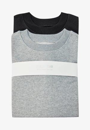 2 PACK - Mikina - black/grey