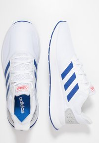 adidas Performance - RUNFALCON - Neutral running shoes - footwear white/royal/active red - 1