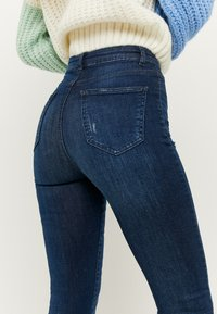 TALLY WEiJL - Jeans Skinny Fit - dark-blue denim - 3