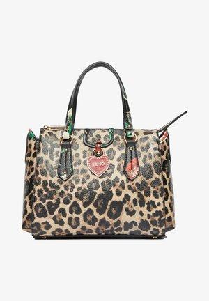 Handbag - animal/blumen
