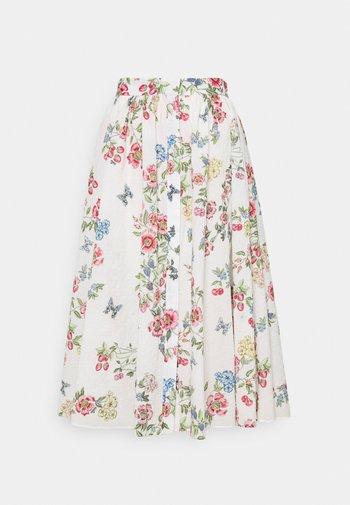 SKIRTS - Pleated skirt - bianco