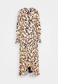 TASH DRESS - Maxi dress - beige/black/brown