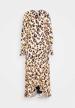 TASH DRESS - Maxi šaty - beige/black/brown