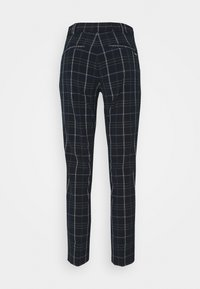 mine to five TOM TAILOR - PANTS COMFORT - Trousers - navy/deep green - 2