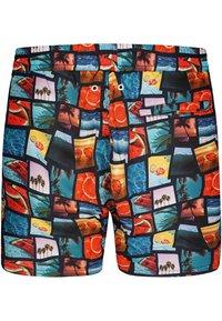 Happy Shorts - Swimming shorts - photo collage - 1