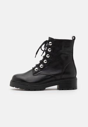 FELINANDE - Lace-up ankle boots - noir