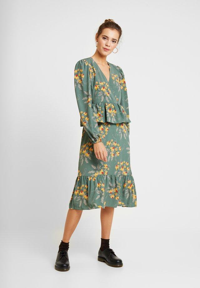 JENNIFER DRESS - Day dress - green