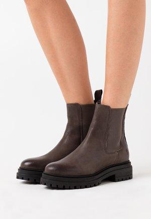 LADINA - Platform ankle boots - taupe
