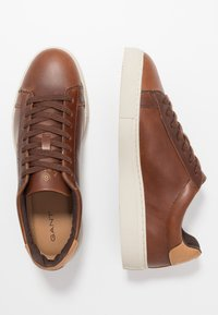 GANT - MC JULIEN - Trainers - cognac - 1