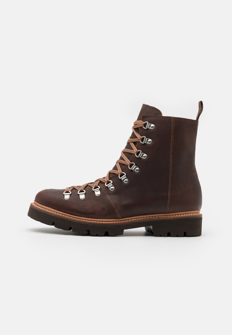 Grenson - BRADY - Lace-up ankle boots - brown
