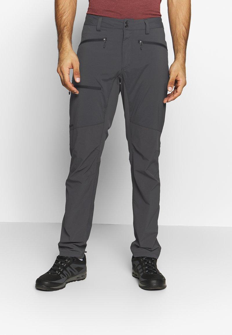 Haglöfs - LITE FLEX PANT MEN - Outdoor trousers - magnetite