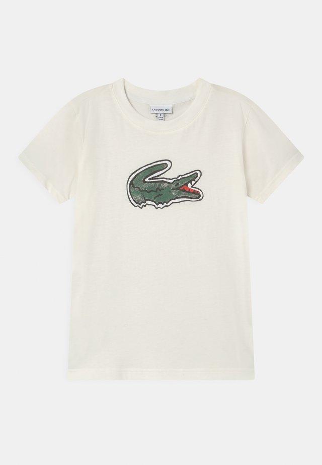 LOGO UNISEX - Print T-shirt - white