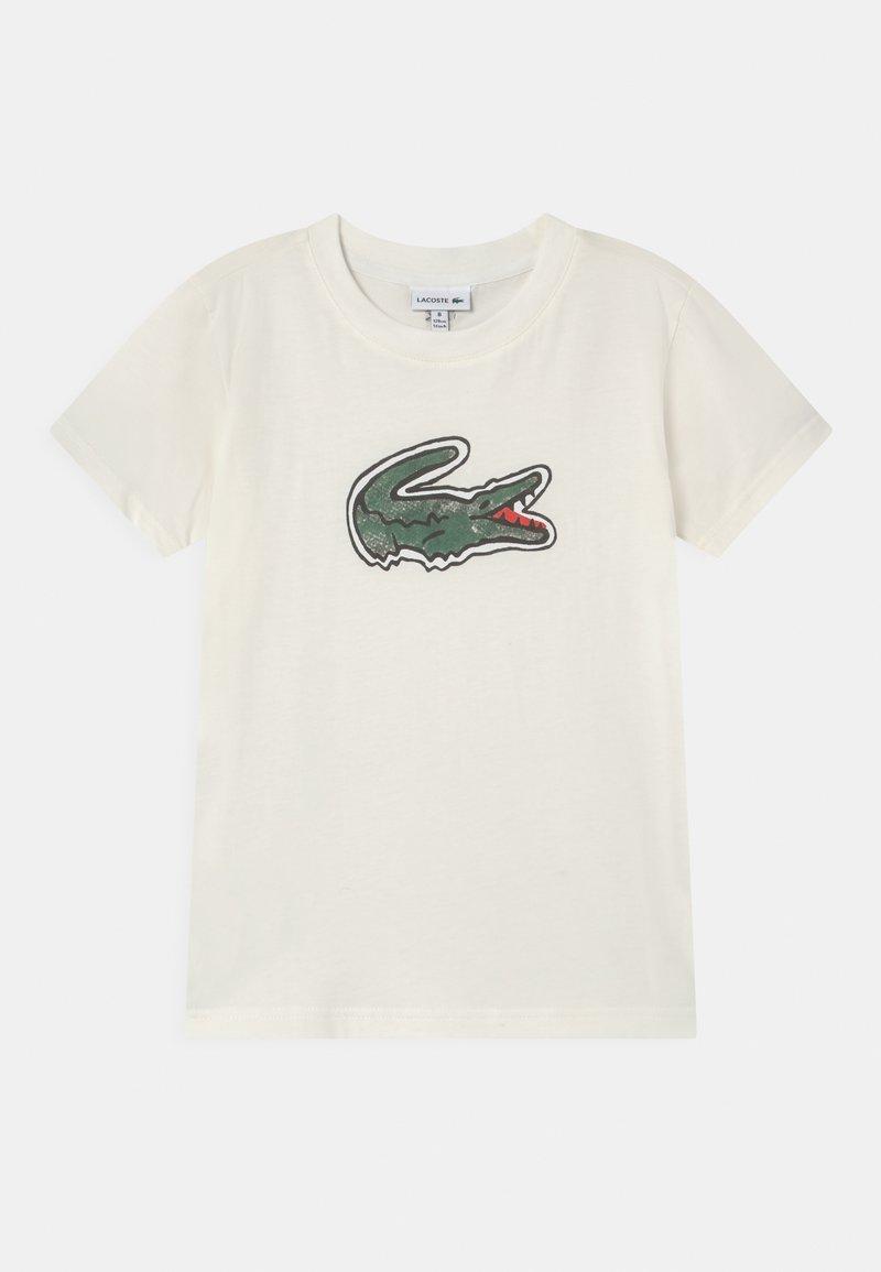 Lacoste - LOGO UNISEX - Print T-shirt - white