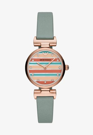 GIANNI T-BAR - Reloj - blue,green,nude,orange,white