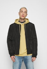 Common Kollectiv - JACKET UNISEX  - Bomber Jacket - black - 0