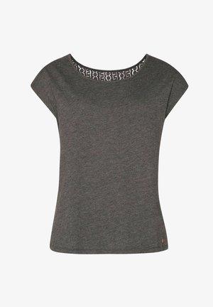 NICE - Print T-shirt - true black