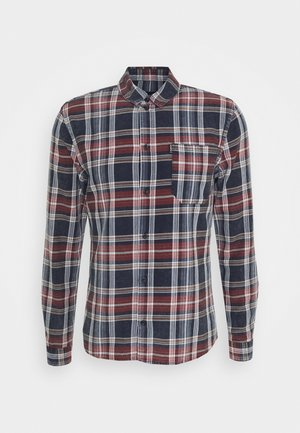 MIC - Shirt - blue/red