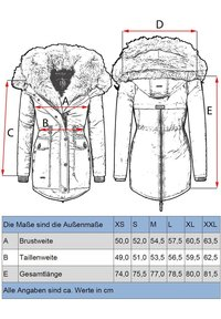 Navahoo - Winter coat - anthracite - 5