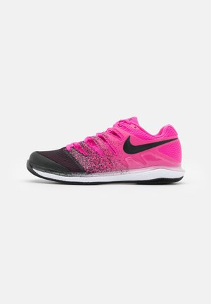 NIKECOURT AIR ZOOM VAPOR X - Multicourt tennis shoes - laser fuchsia/black/white