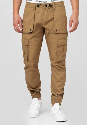 Cargo trousers - amber