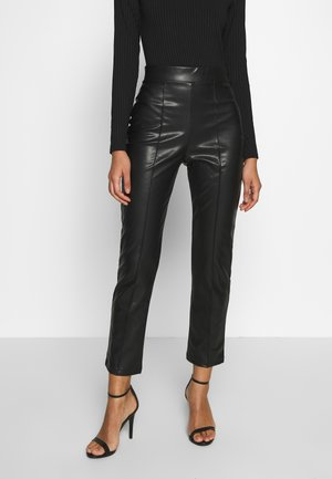STUNNING PANTS - Bukse - black