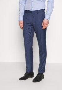 Isaac Dewhirst - BLUE TEXTURE SUIT - Garnitur - blue - 4