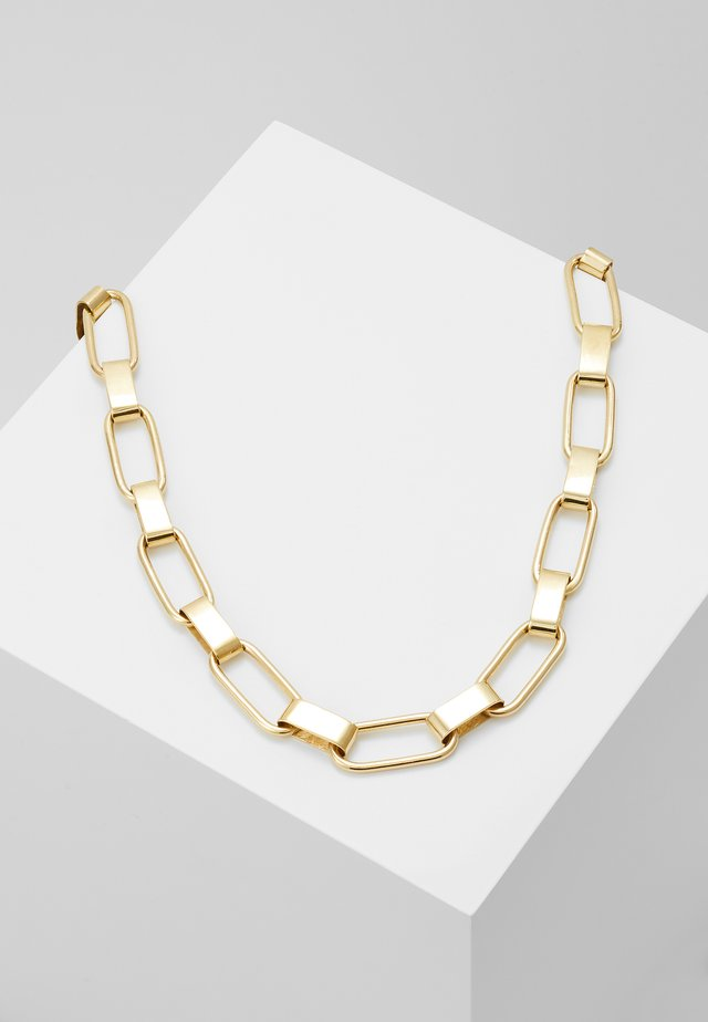 CAPSULE COLLAR NECKLACE - Smykke - gold-coloured