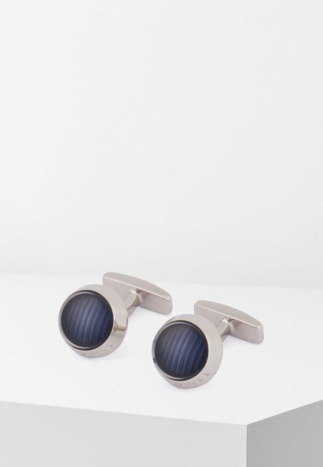 HARPER - Cufflinks - blue