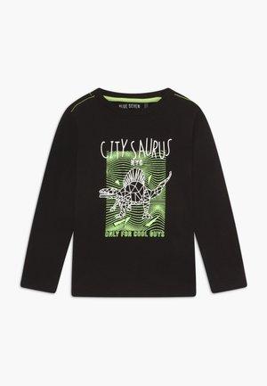 KIDS DINOSAUR - Langærmede T-shirts - black