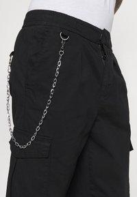 Redefined Rebel - HARVEY PANTS - Cargo trousers - black - 3