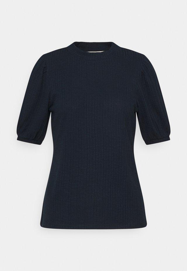 BALLOON SLEEVE TEE - T-shirt basic - sky captain blue