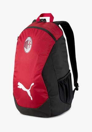 AC MILAN FINAL - Rucksack - black/tango red