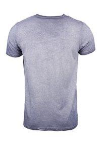 TOP GUN - MIT TOP GUN LOGO EASE - Print T-shirt - navy - 1