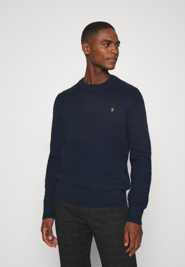 HORACE CREW - Sweter - true navy