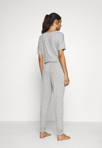 Hunkemöller - PANT EYES - Pyjamasbukse - warm grey melee - 2