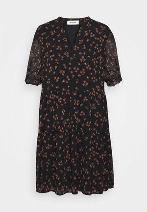 ERICA PRINT DRESS - Day dress - black