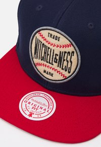 Mitchell & Ness - BRANDED MNN BASEBALL PATCH SNAPBACK - Cap - blue/navy/red - 3