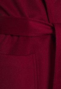 MAX&Co. - RUNAWAY - Klassisk kappa / rock - burgundy - 7