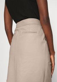 Second Female - FRANCIE MINI SKIRT - Mini skirt - humus - 3
