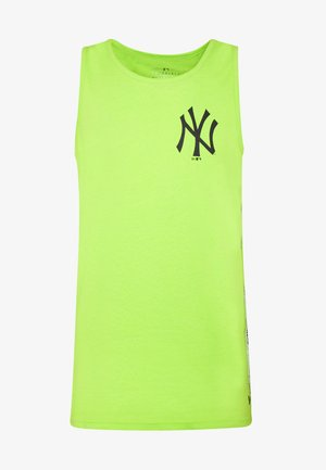 TAPING TANK NEW YORK YANKEES - Club wear - light green