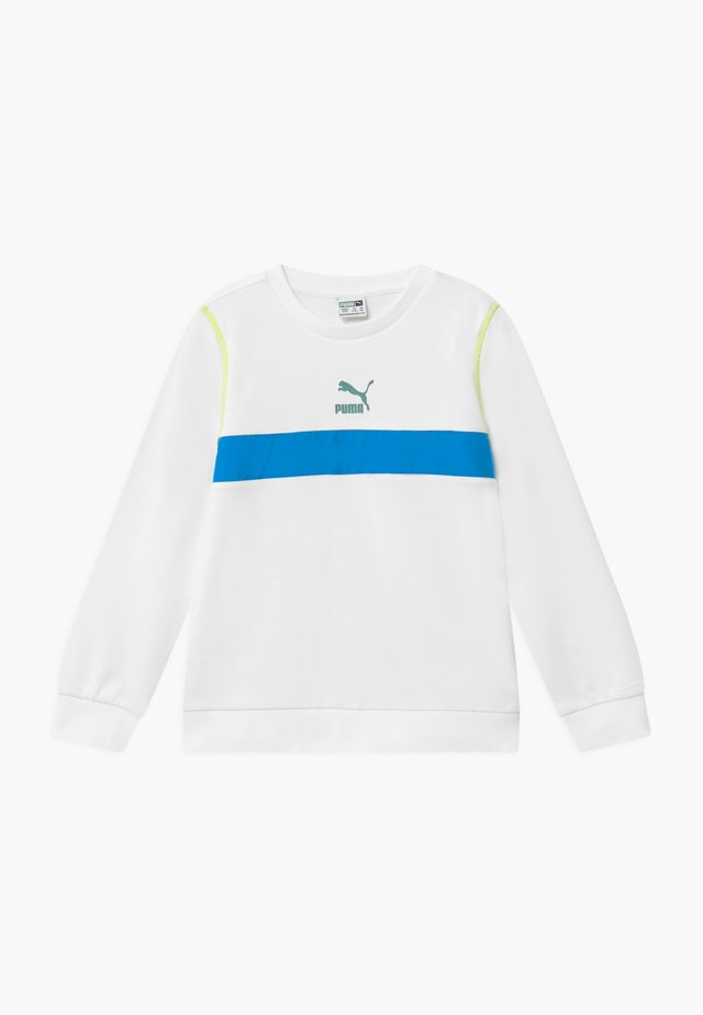 PUMA X ZALANDO CREW  - Sweatshirt - white