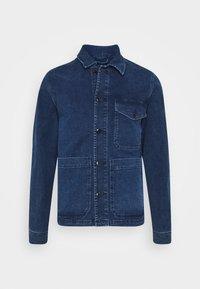 Selected Homme - SLHHARRY - Denim jacket - dark blue denim - 4