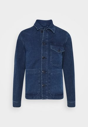 SLHHARRY - Denim jacket - dark blue denim