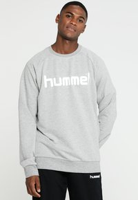 Hummel - Bluza - grey melange - 0