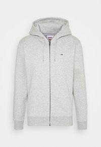REGULAR ZIP HOOD - Vetoketjullinen college - light grey heather